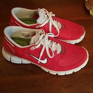 Nike Free 7.0 Red 9.5